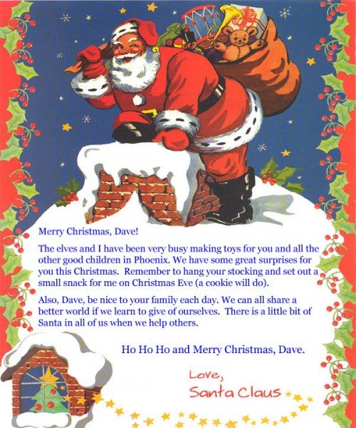 Letter from santa claus agift4all letter from santa claus spiritdancerdesigns Gallery